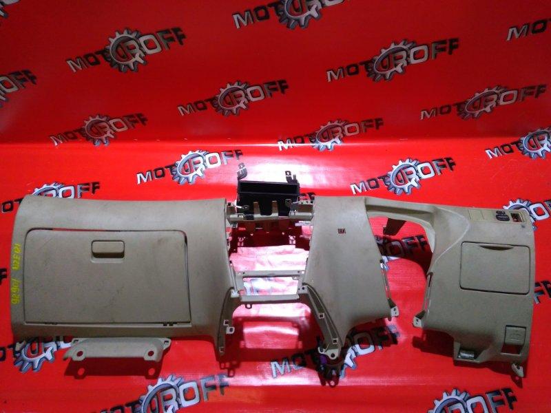 Панель передняя в салон (торпеда) Toyota Corolla Fielder NZE121 1NZ-FE 2000 передний нижний (б/у)