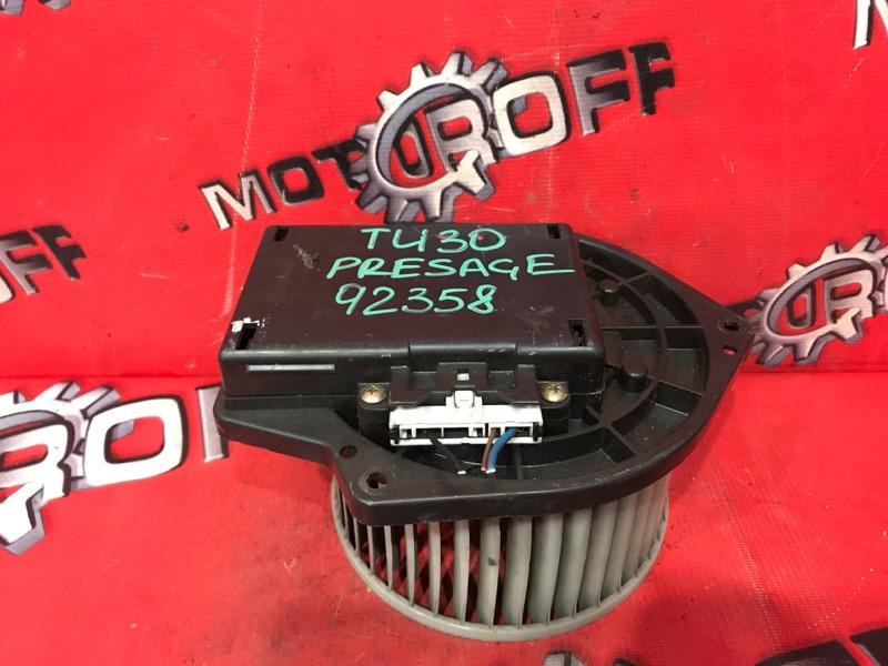 Вентилятор (мотор отопителя) Nissan Presage TU30 KA24DE 1999 (б/у)