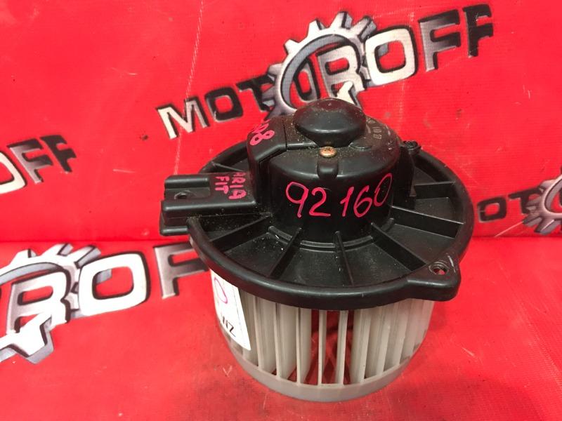 Вентилятор (мотор отопителя) Honda Fit Aria GD6 L13A 2002 (б/у)