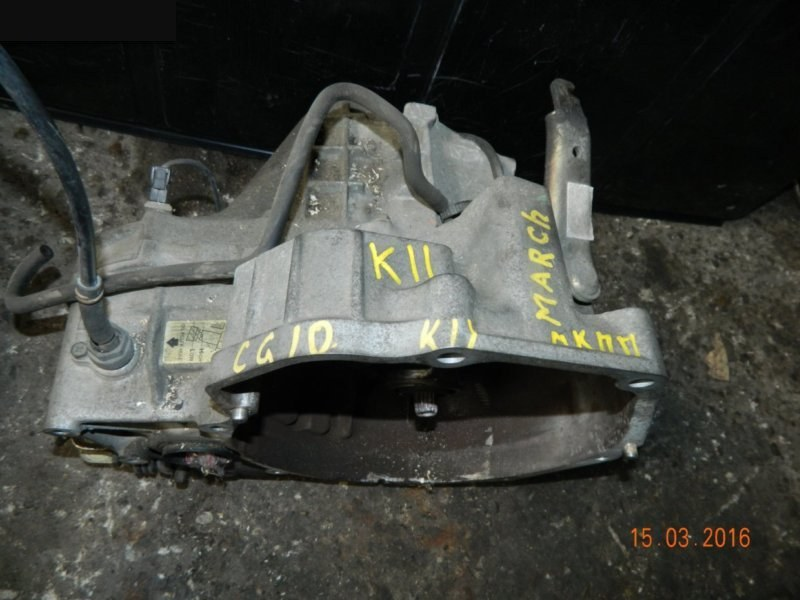 Мкпп Nissan K11 CG10DE (б/у)
