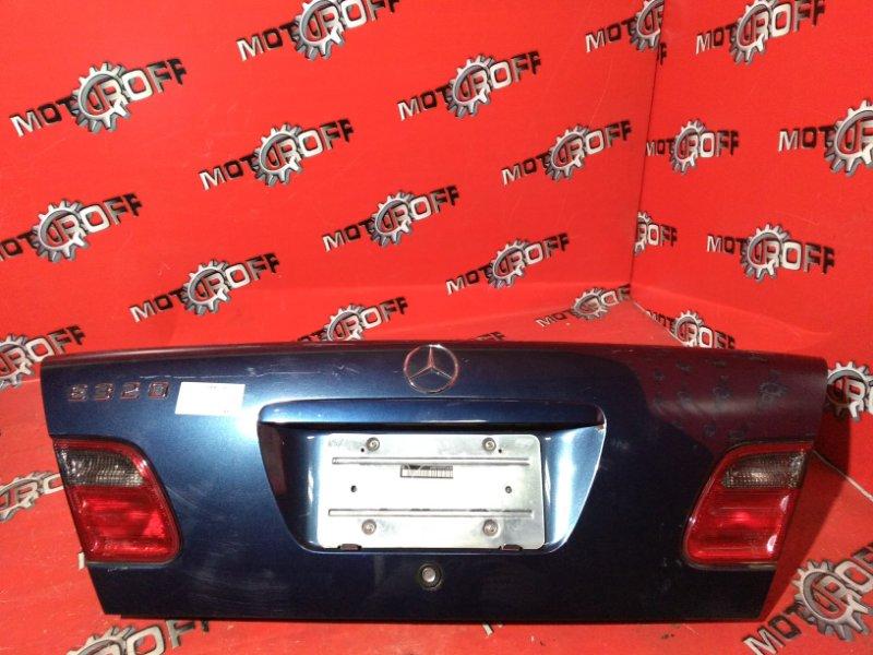 Крышка багажника Mercedes E230 W210 111.970 2000 задняя (б/у)