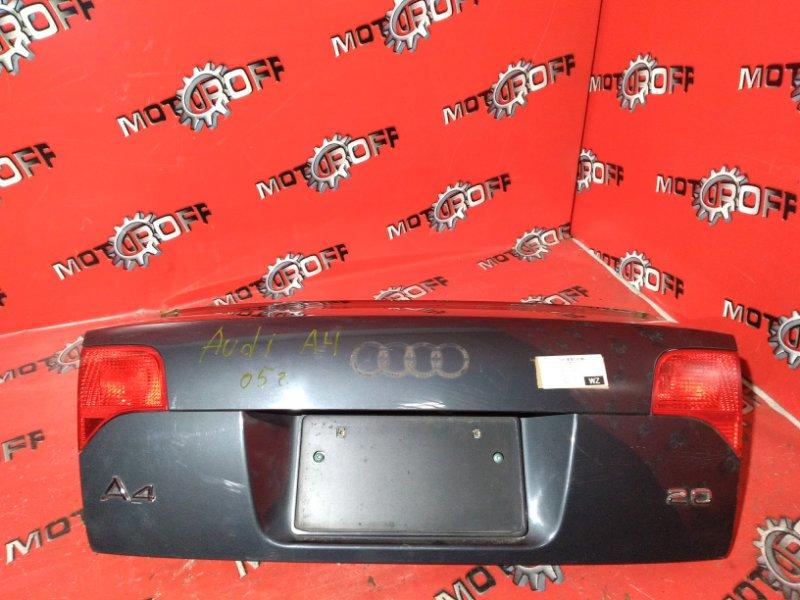 Крышка багажника Audi A4 B7 ALT 2006 задняя (б/у)