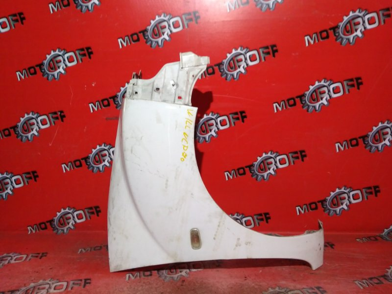 Крыло Toyota Will Cypha NCP70 2NZ-FE 2002 переднее правое (б/у)