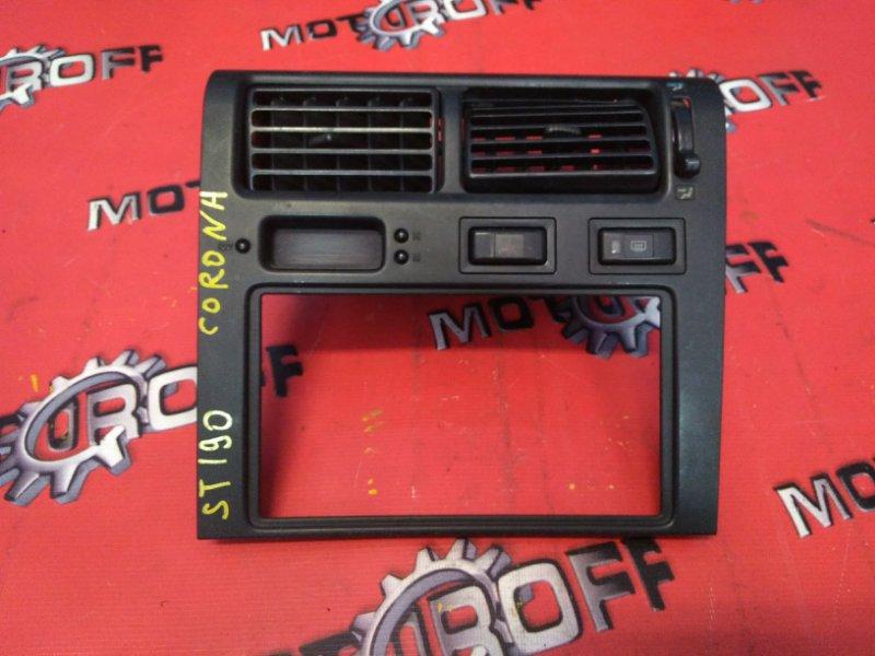Рамка (консоль магнитофона) Toyota Corona ST190 4A-FE 1992 (б/у)