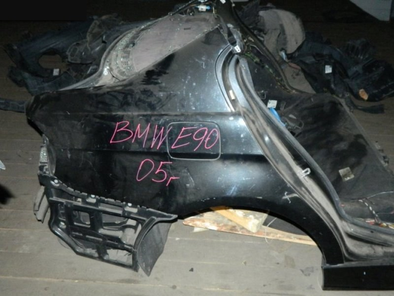 Крыло Bmw 318 E90 N46 B20 2005 заднее (б/у)