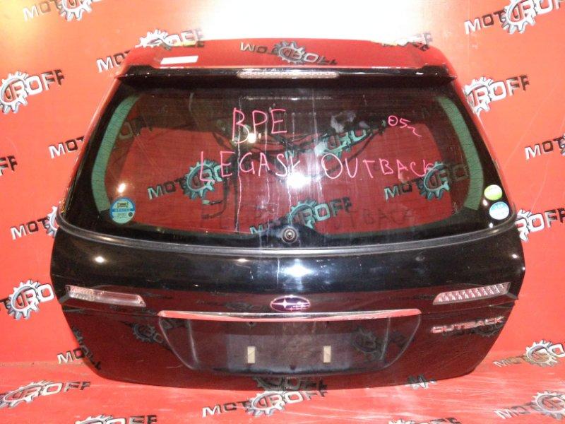 Дверь задняя багажника Subaru Legacy Outback BPE EZ30 задняя (б/у)