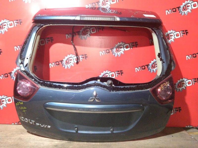 Дверь задняя багажника Mitsubishi Colt Plus Z23W 4A91 2002 задняя (б/у)