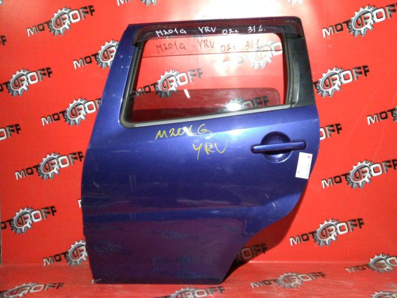Дверь боковая Daihatsu Yrv M201G EJ 2000 задняя левая (б/у)