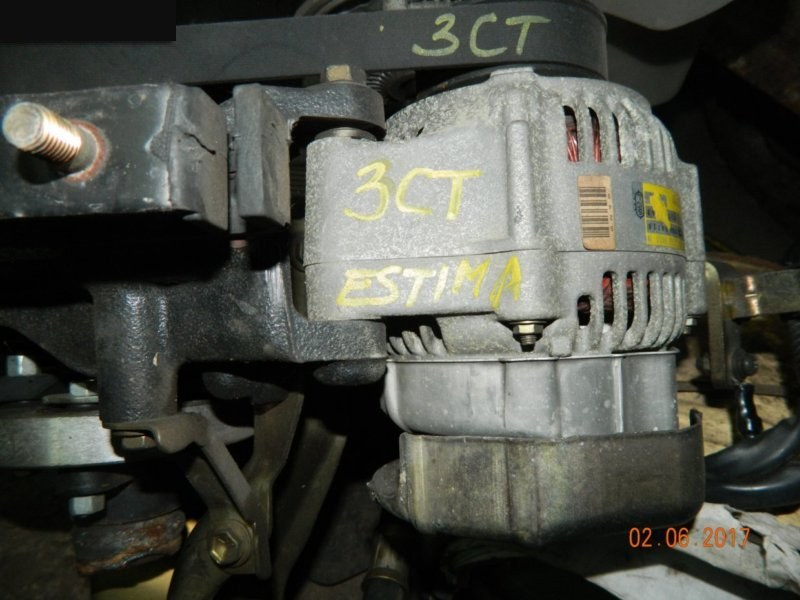 Генератор Toyota Estima 3C-TE (б/у)