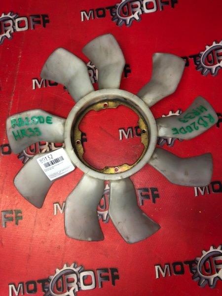 Вентилятор радиатора двигателя Nissan RB20DE (б/у)
