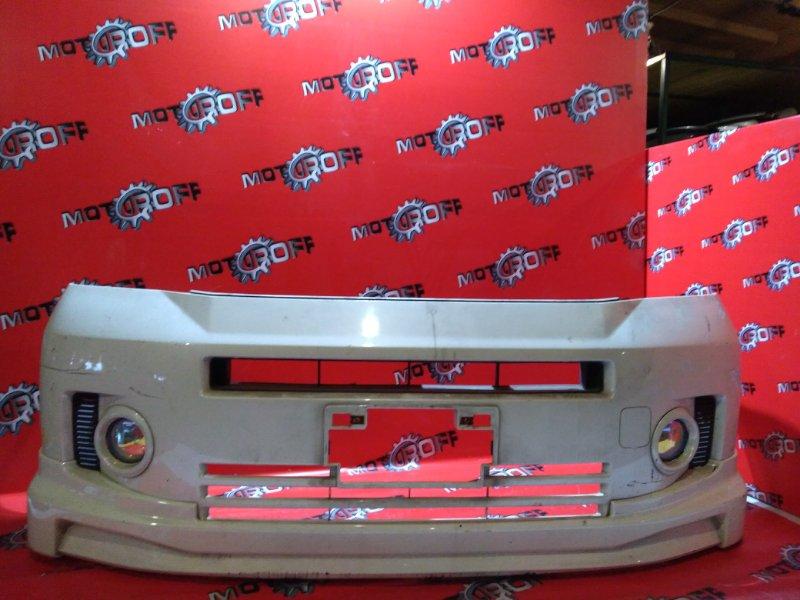 Бампер Honda Mobilio GB1 L15A 2004 передний (б/у)