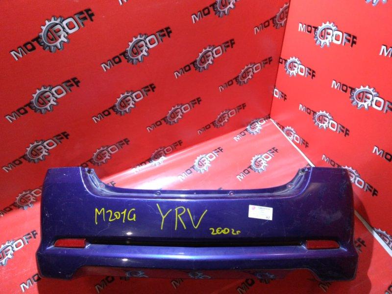 Бампер Daihatsu Yrv M201G EJ 2000 задний (б/у)