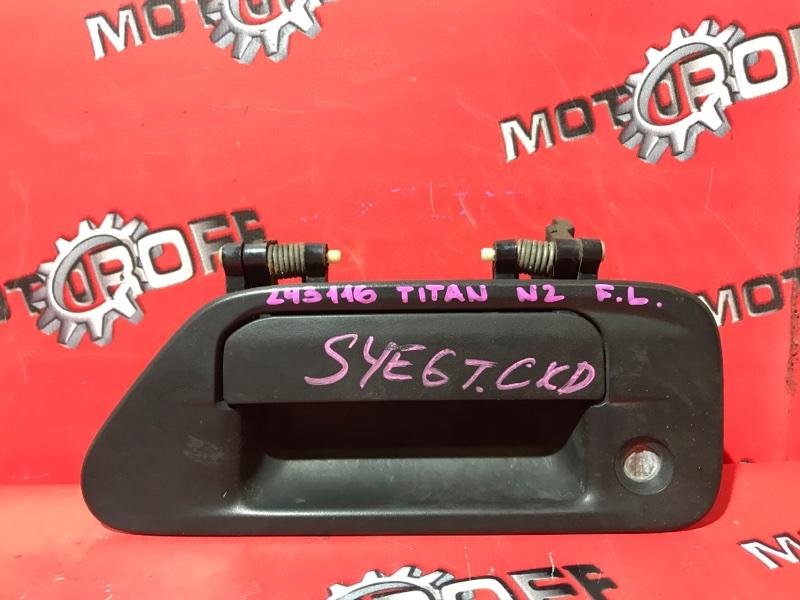 Ручка наружная Mazda Titan SY6ET FE 2000 левая (б/у)
