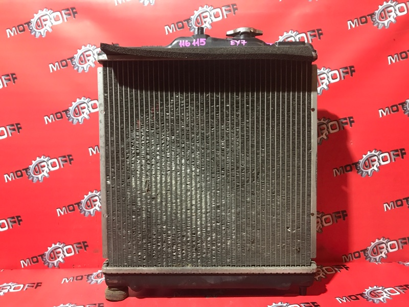 Радиатор двигателя Honda Domani MB3 D15B 1997 (б/у)