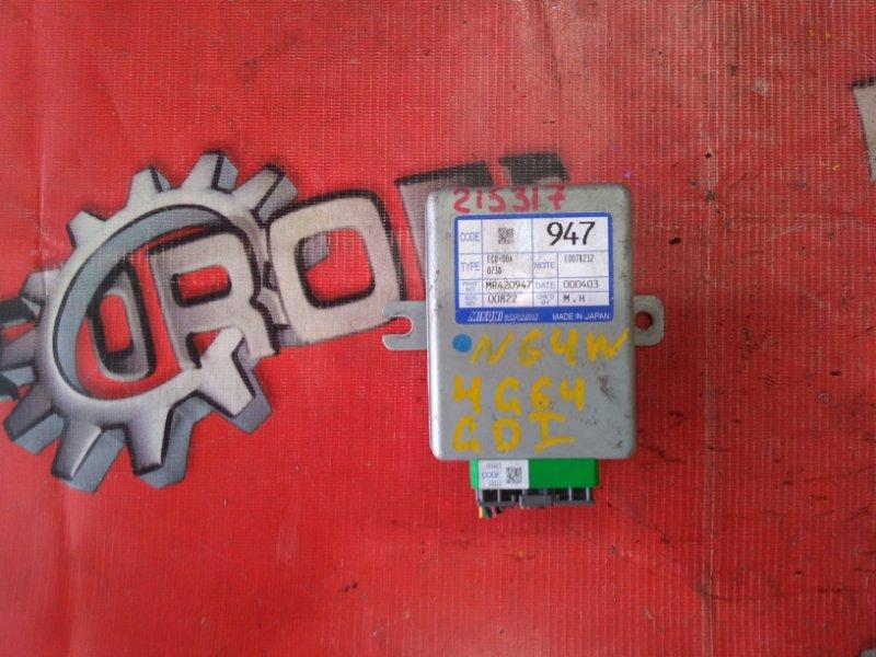 Компьютер (блок управления) Mitsubishi Rvr N64WG 4G64 1997 (б/у)