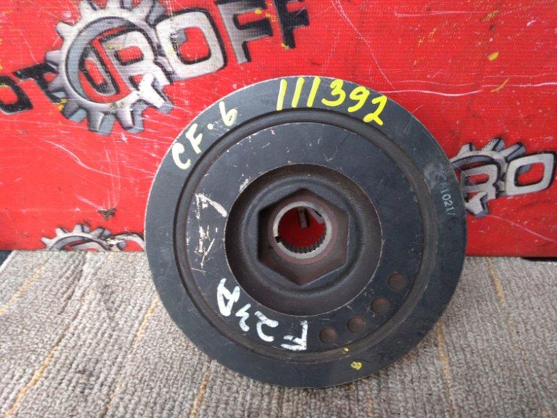 Шкив коленвала Honda Accord CF6 F23A (б/у)