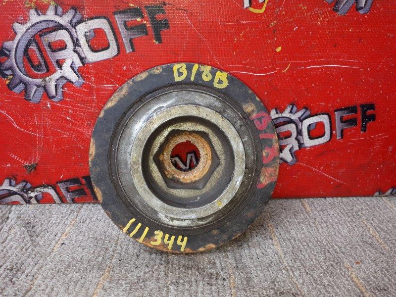 Шкив коленвала Honda Orthia EL1 B18B 1996 (б/у)