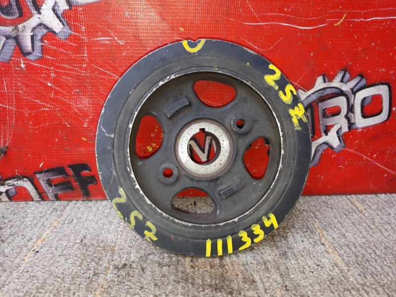 Шкив коленвала Toyota Vitz SCP90 2SZ-FE (б/у)