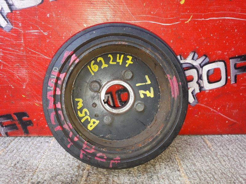 Шкив коленвала Mazda Familia BJ5W ZL-VE 1998 (б/у)