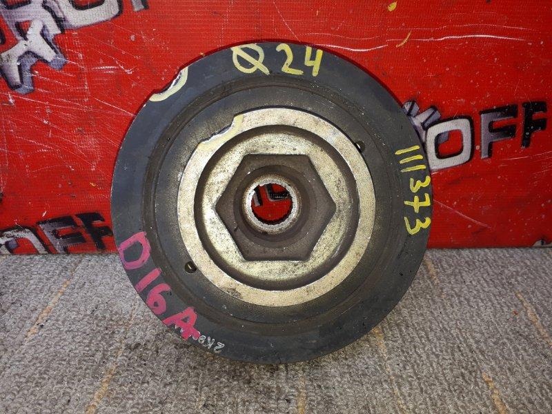 Шкив коленвала Honda Partner EY7 D15B 1996 (б/у)
