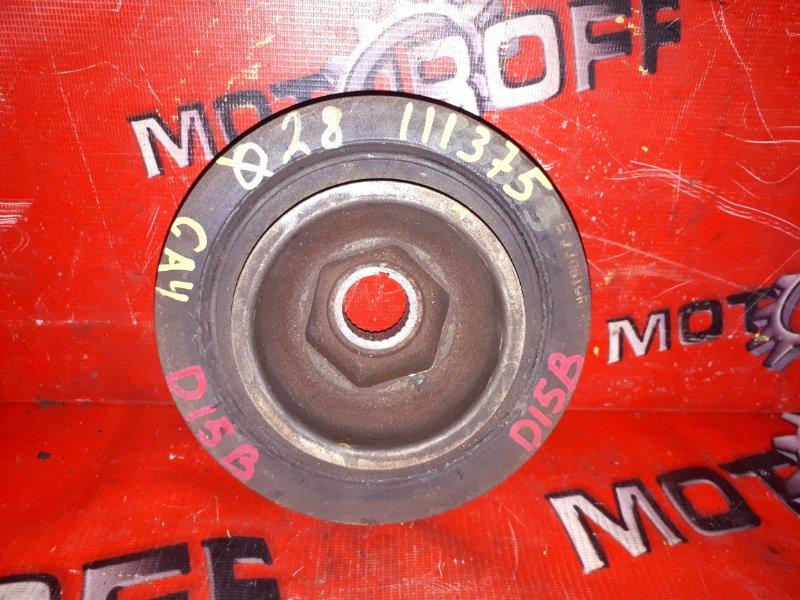 Шкив коленвала Honda Capa GA4 D15B 1998 (б/у)