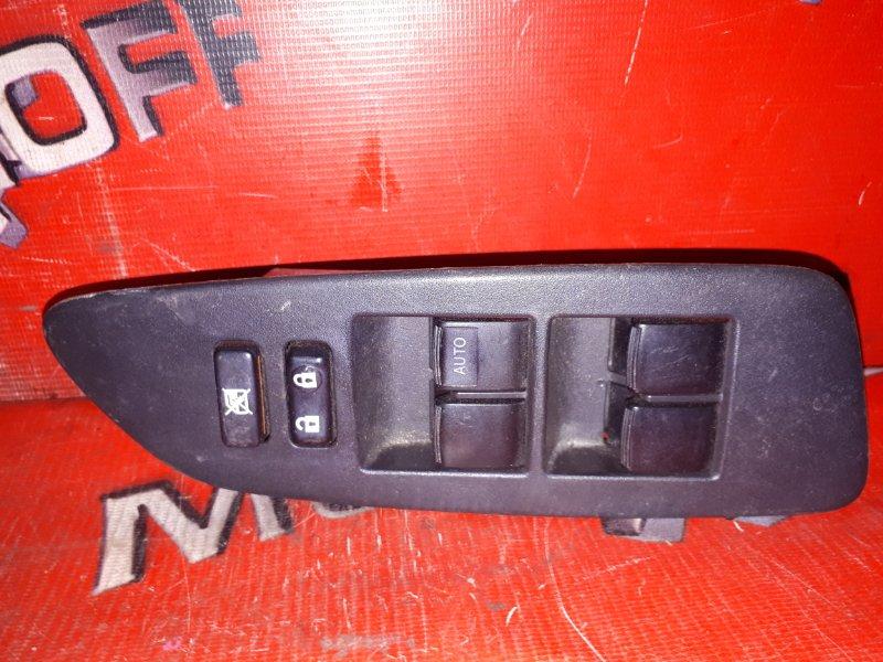 Блок управления стеклоподъемниками Toyota Auris ZRE152 2ZR-FE 2006 передний правый (б/у)