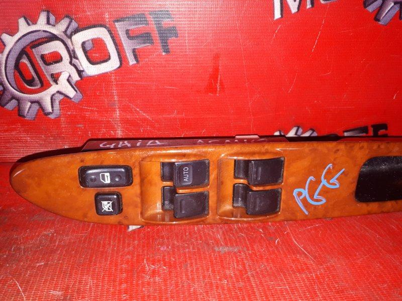 Блок управления стеклоподъемниками Toyota Gaia ACM10G 1AZ-FSE 1998 передний правый (б/у)