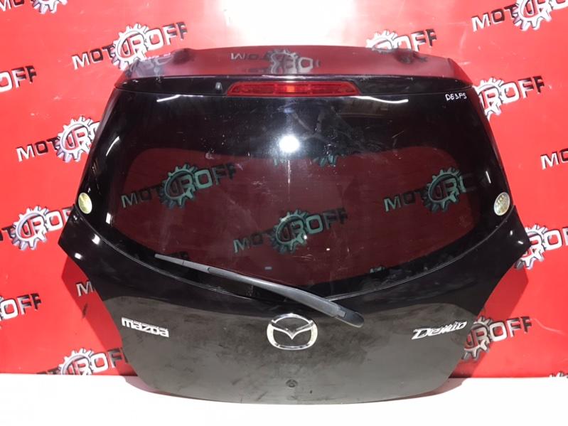 Дверь задняя багажника Mazda Demio DE3FS ZJ-VE 2007 задняя (б/у)