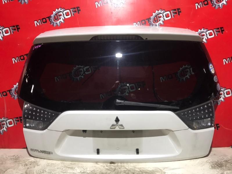 Дверь задняя багажника Mitsubishi Outlander Xl CW5W 4B12 2005 задняя (б/у)
