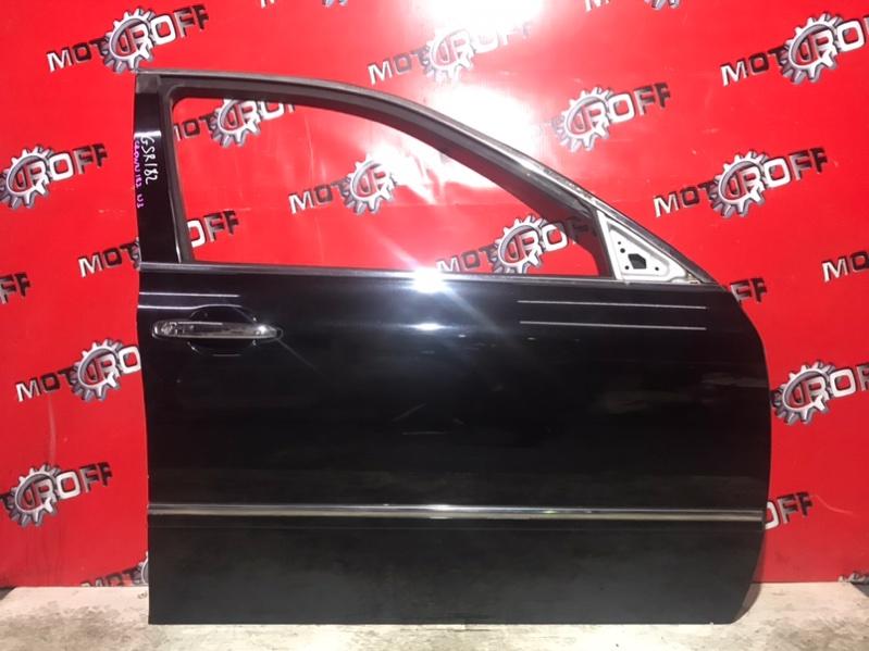 Дверь боковая Toyota Crown GRS182 3GR-FSE 2003 передняя правая (б/у)