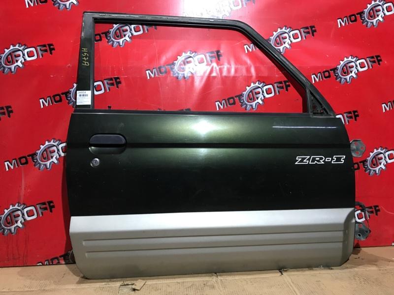 Дверь боковая Mitsubishi Pajero Jr H57A 4A31 1995 передняя правая (б/у)