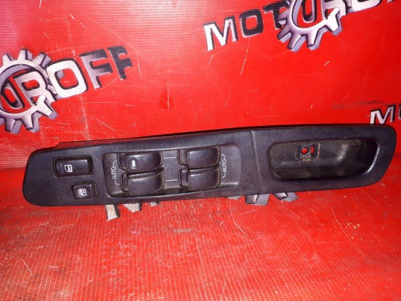 Блок управления стеклоподъемниками Mitsubishi Galant EA1A 4G93 1996 передний правый (б/у)