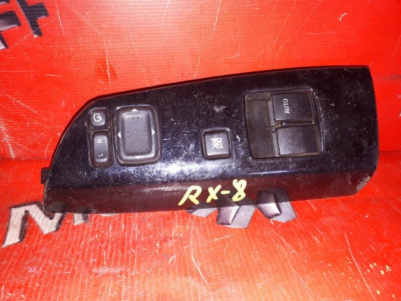 Блок управления стеклоподъемниками Mazda Rx8 SE3P 13B-MSP 2003 передний правый (б/у)