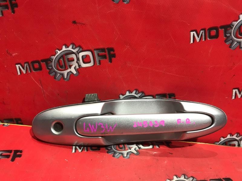 Ручка наружная Mazda Mpv LW3W L3-DE 1999 передняя правая (б/у)