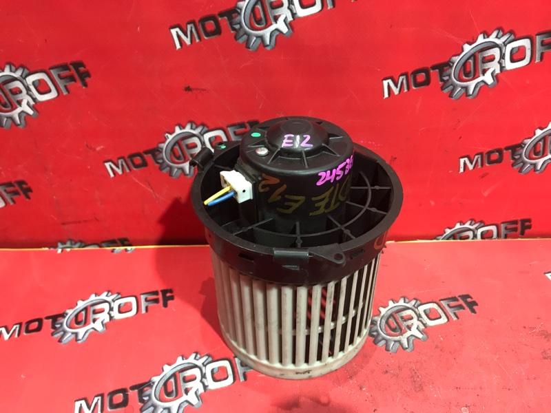 Вентилятор (мотор отопителя) Nissan Note E12 HR12DE 2012 (б/у)
