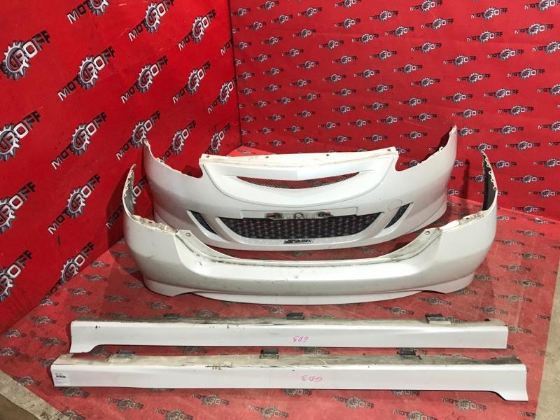 Обвес аэродинамический Honda Fit GD1 L13A 2001 (б/у)
