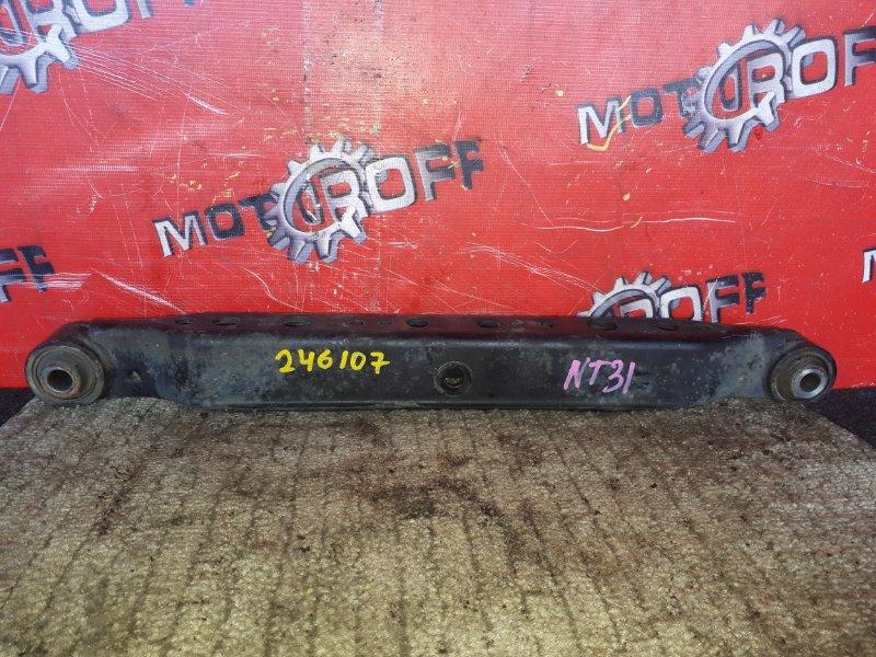 Рычаг подвески Nissan X-Trail NT31 MR20DE 2007 задний правый нижний (б/у)