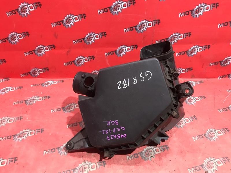 Корпус воздушного фильтра Toyota Crown GRS182 3GR-FSE 2003 (б/у)