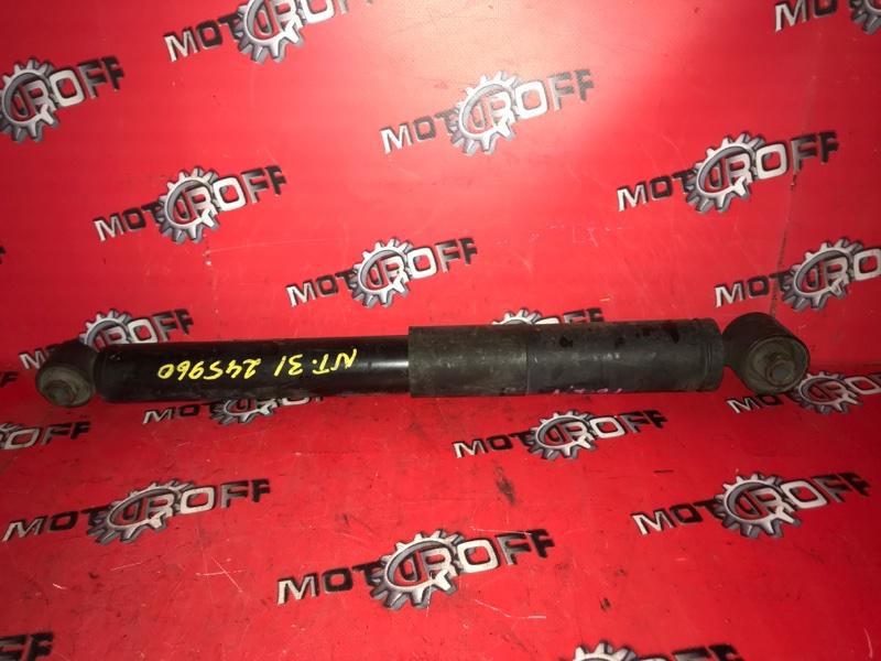 Амортизатор Nissan X-Trail NT31 MR20DE 2007 задний (б/у)