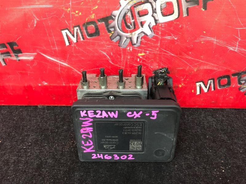 Блок abs (модулятор abs) Mazda Cx-5 KE2AW SH-VPTS 2012 (б/у)