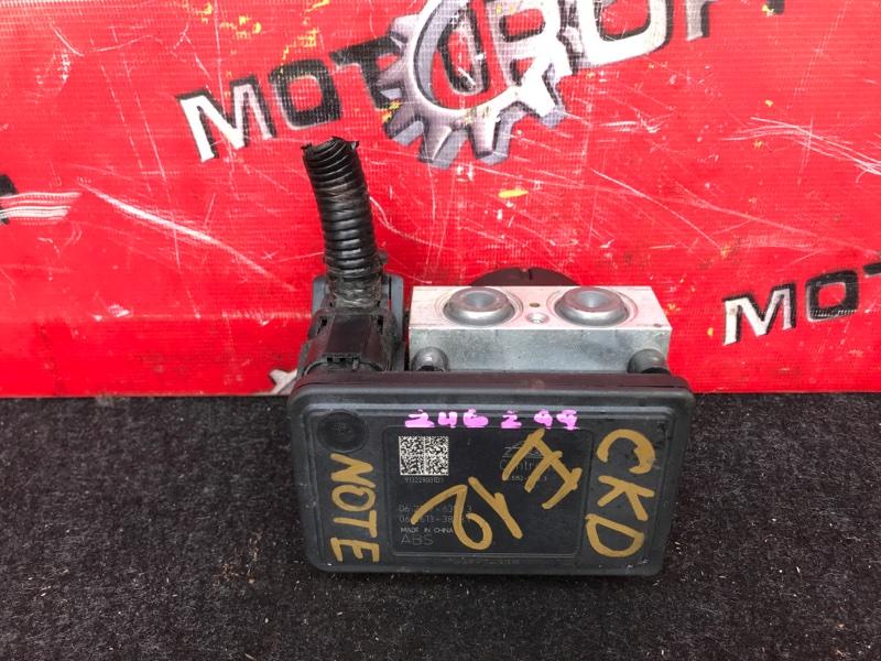 Блок abs (модулятор abs) Nissan Note E12 HR12DE 2012 (б/у)