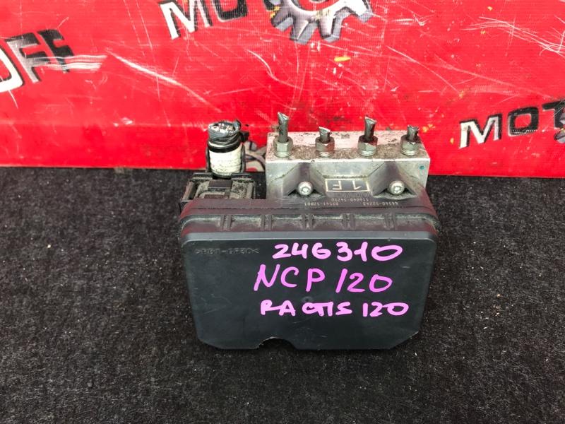 Блок abs (модулятор abs) Toyota Ractis NCP120 1NZ-FE 2010 (б/у)
