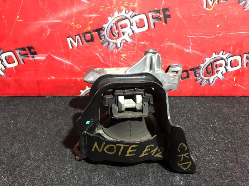 Подушка двигателя Nissan Note E12 HR12DE 2012 правая (б/у)