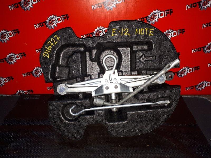 Домкрат Nissan Note E12 HR12DDR 2012 (б/у)