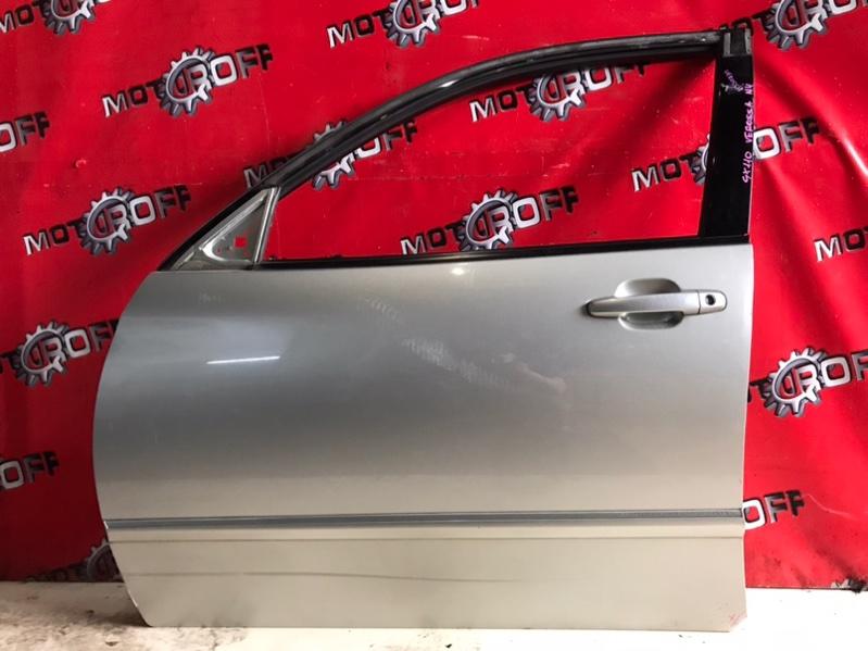 Дверь боковая Toyota Verossa GX110 1G-FE 2001 передняя левая (б/у)