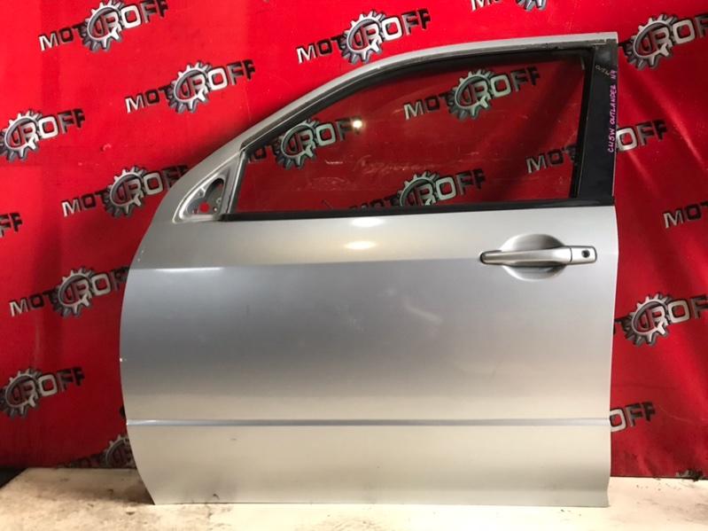 Дверь боковая Mitsubishi Outlander CU5W 4G69 2002 передняя левая (б/у)