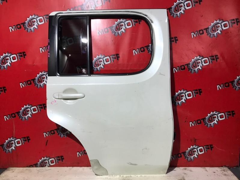 Дверь боковая Nissan Cube Z12 HR15DE 2008 задняя правая (б/у)