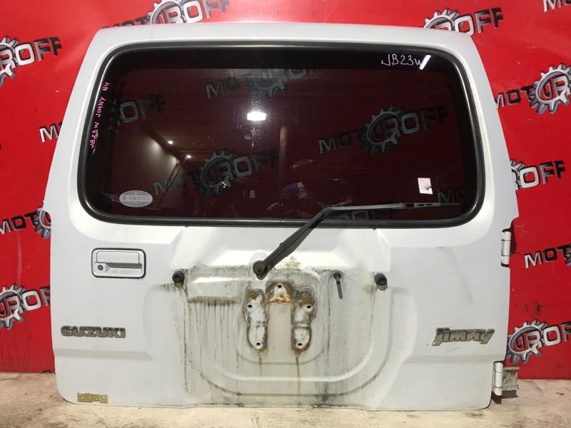 Дверь задняя багажника Suzuki Jimny JB23W K6A-T 1998 задняя (б/у)