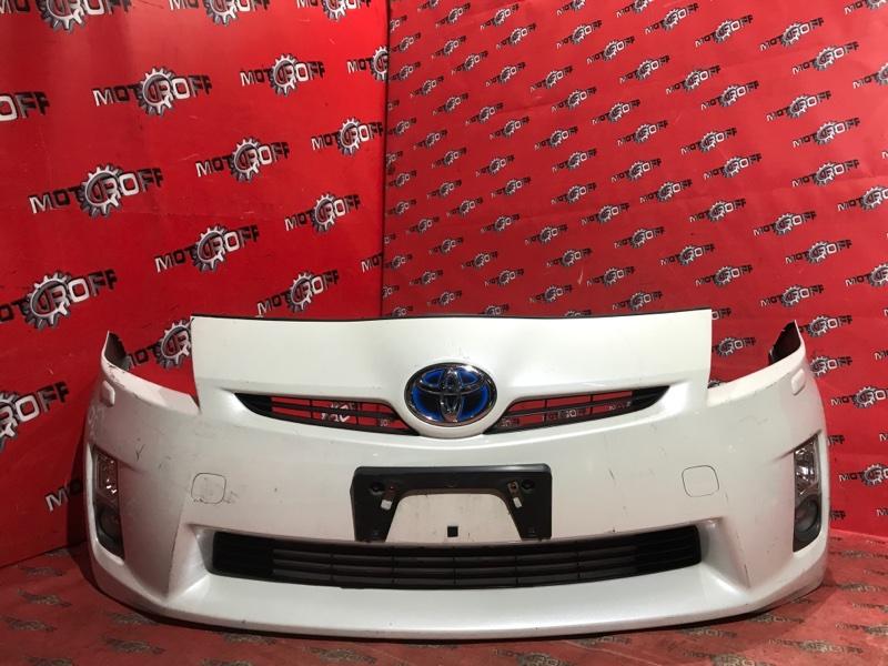 Бампер Toyota Prius ZVW30 2ZR-FXE 2009 передний (б/у)