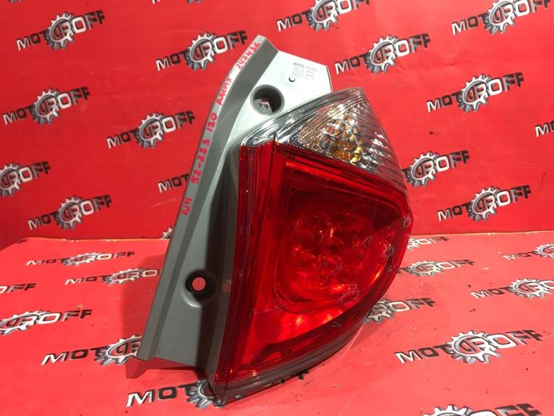 Фонарь (стоп-сигнал) Toyota Ractis NCP120 1NZ-FE 2010 задний правый (б/у)